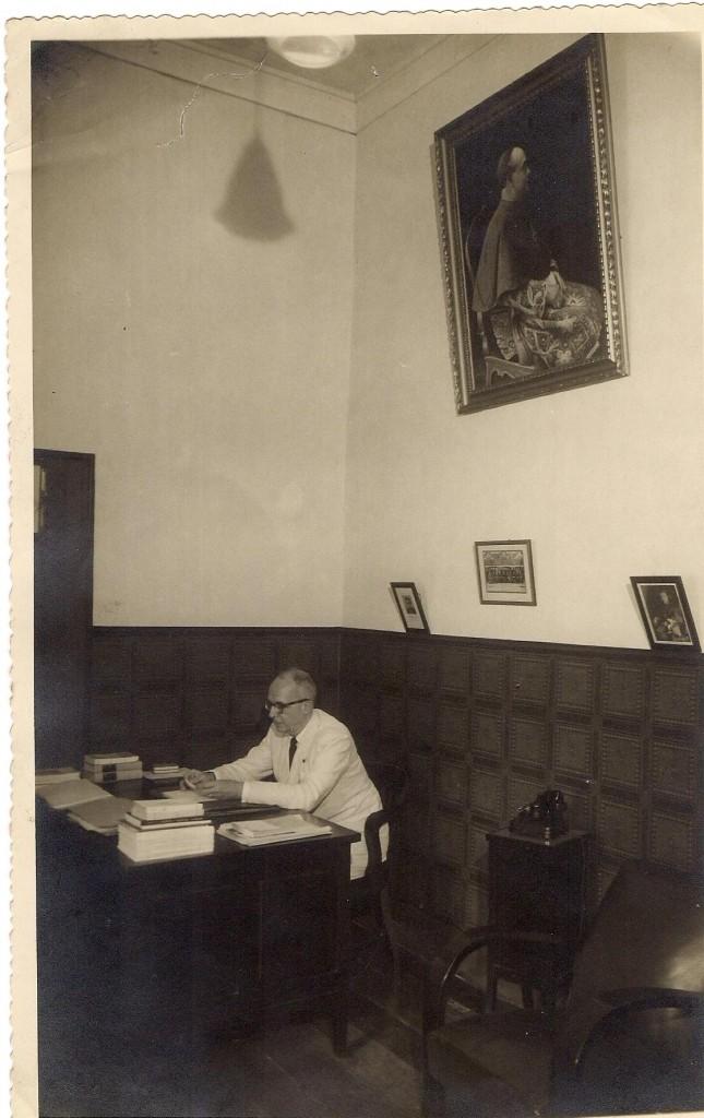 Alceu Amoroso Lima na Presidência da Coligação Católica Brasileira - 1949