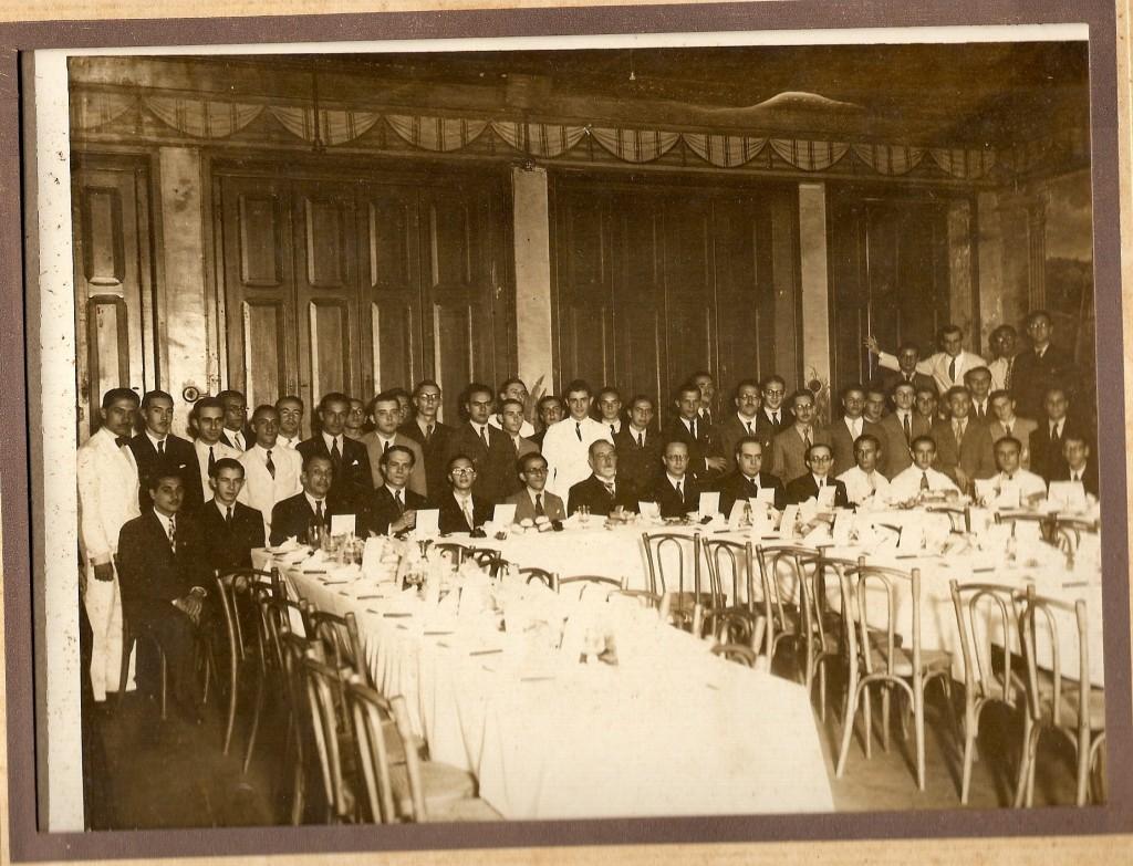 Almoço comemorativo da Associação Universitária Católica - 1936