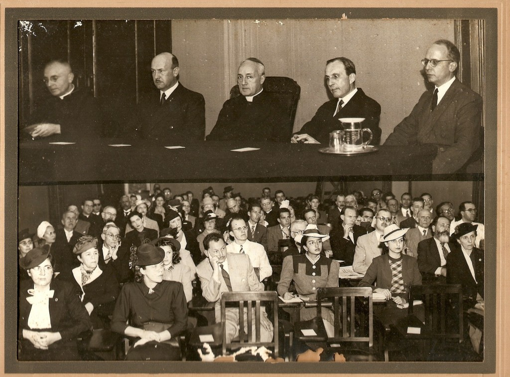 Conferência no Centro Dom Vital - 1934