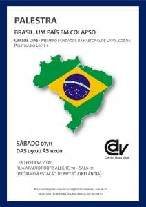 Cartaz - Brasil um país em colapso