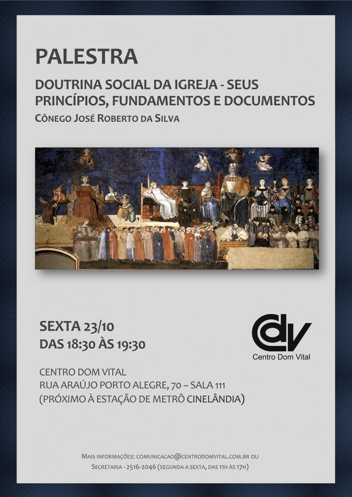 Cartaz - Doutrina Social - V4