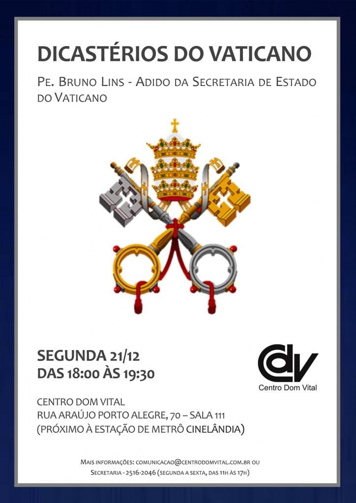 Cartaz - Dicastérios do Vaticano - V1