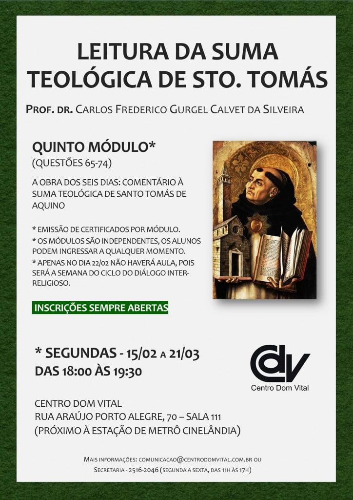 Cartaz - Suma Teológica