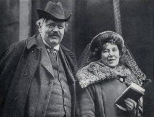 G. K. Chesterton e Frances Blogg