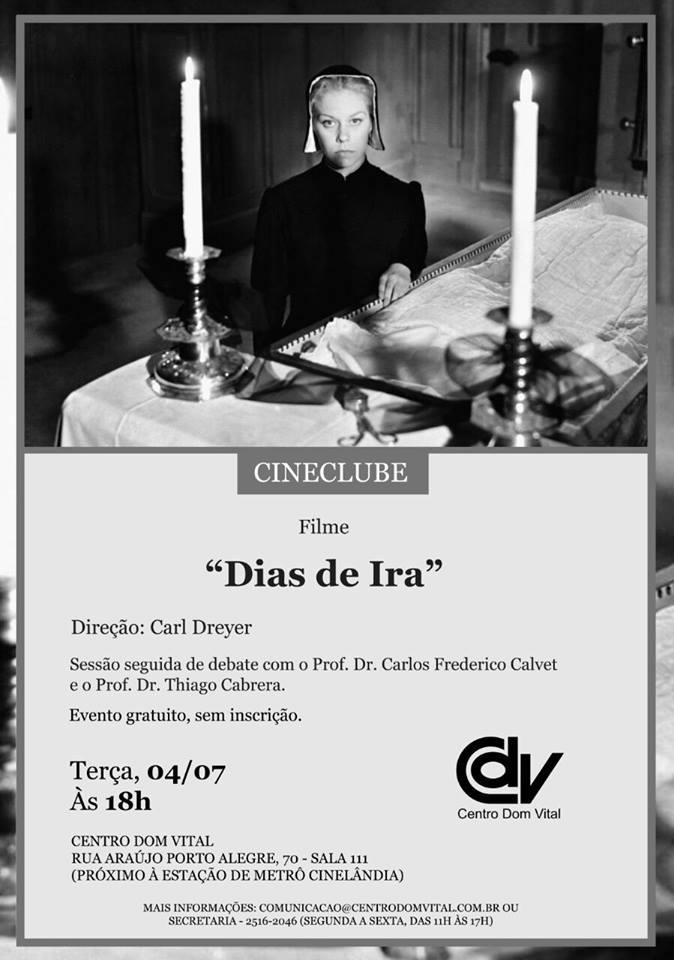 """Cineclube """"Dias de Ira"""""""