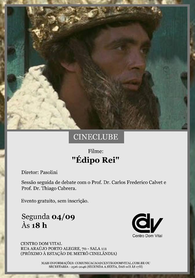 "Cineclube ""Édipo Rei"""
