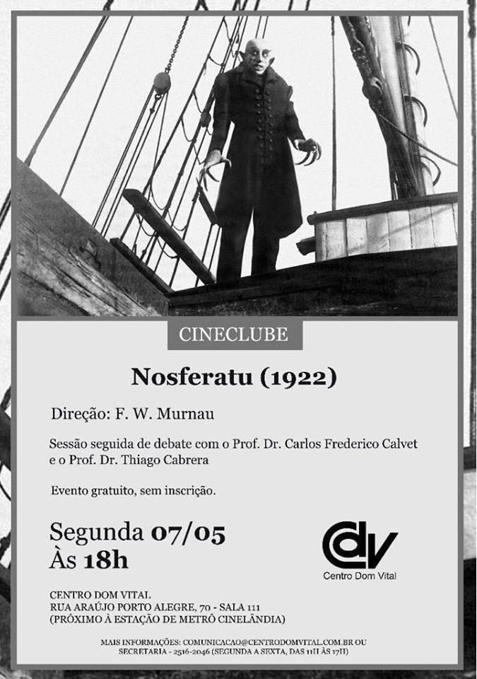 """Cineclube """"Nosferatu"""""""