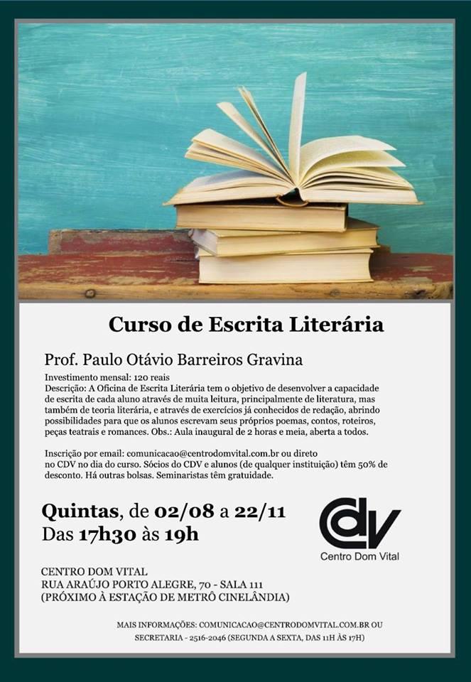 Curso de Escrita Literária