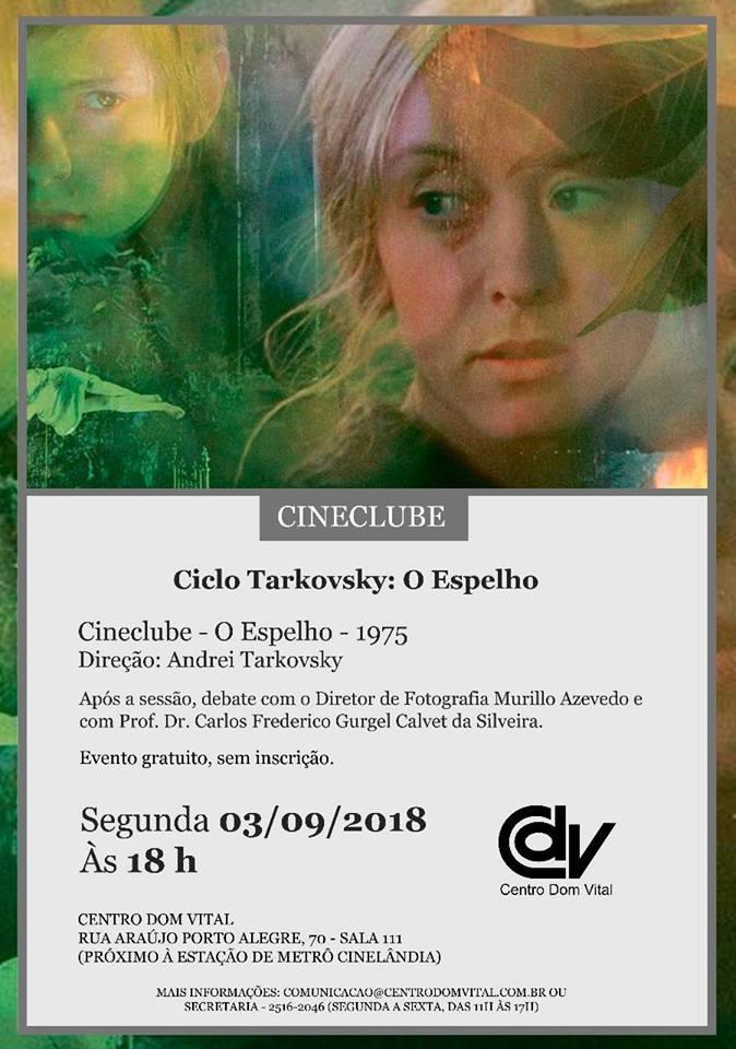"""Cineclube """"O Espelho - 1975"""""""