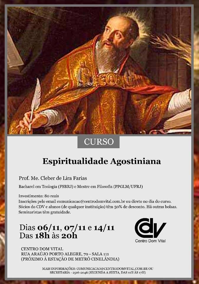 Curso de Espiritualidade Agostiniana