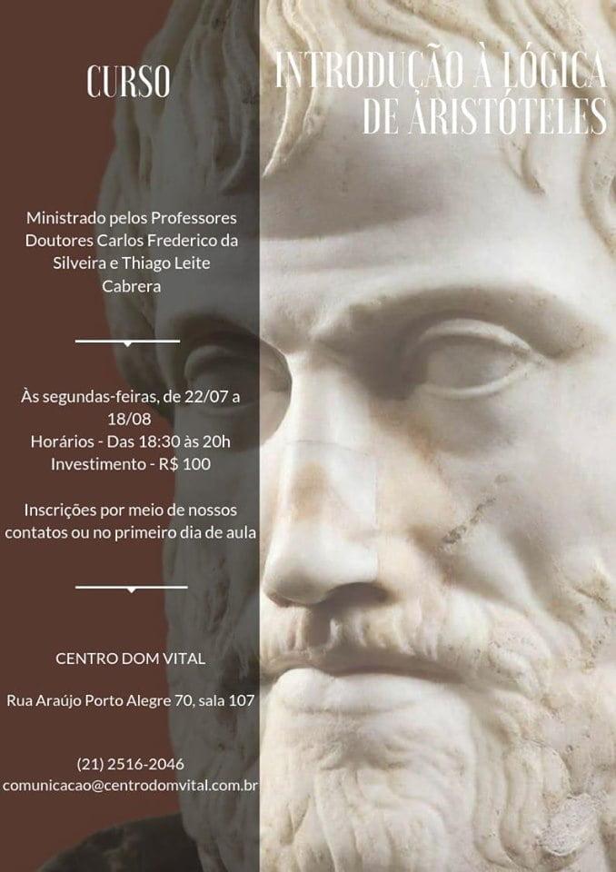 """Curso """"Introdução à Lógica de Aristóteles"""""""