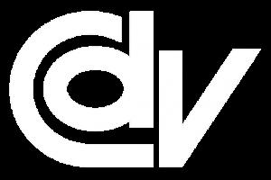 logotipo branco do Centro Dom Vital