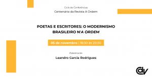 Poetas e escritores: o Modernismo brasileiro n'A Ordem
